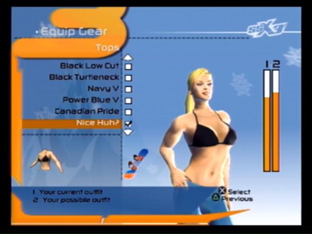 Ssx 3 elise bikini